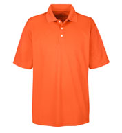 Custom Mens Cool and Dry Stain Release Polo Mens