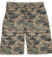 Custom Badger Adult Camo Short Mens