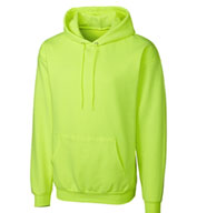 Custom Basic Fleece Pullover Hoodie in Big Sizes