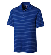 Custom Mens CB DryTec� Franklin Stripe Polo Mens
