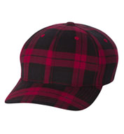 Custom Flexfit Tartan Plaid Cap
