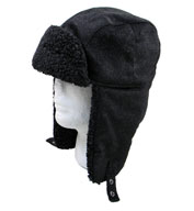 Custom Fleece Lined Hat with Earflaps