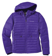 Custom Columbia Ladies Powder Pillow Quilted Jacket