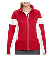 Custom Ladies Elite Performance Full-Zip Warm Up Jacket