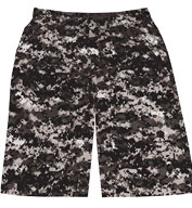 Custom Badger Adult Digital Camo Short
