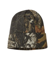 Custom 12 inch Camo Beanie with Cuff