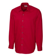 Custom Cutter  & Buck Mens Epic Easy Care Broken Twill in Big and Tall Sizes