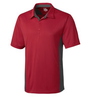 Custom Mens DryTec� Willow Color Block Polo Mens