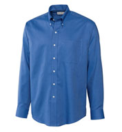 Custom Mens Epic Easy Care Nailshead Shirt by Cutter & Buck Mens