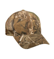 Custom Camo Mesh Back Cap with Snap Closure in 6 Colors