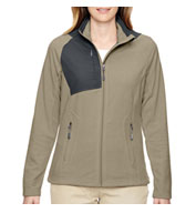Custom Ladies Excursion Trail Fabric-Block Fleece Jacket