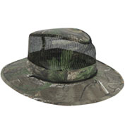 Custom Camo Outback hat with Mesh Crown