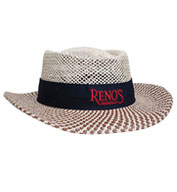 Custom Gambler Straw Hat