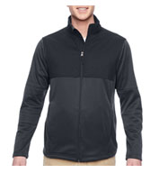 Custom Mens Task Performance Fleece Full-Zip Jacket Mens