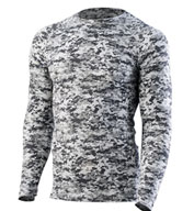 Custom Hyperform Compression Long Sleeve Shirt Mens
