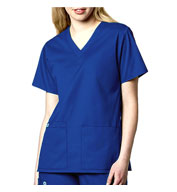 Custom WonderWink® V-Neck Scrub Top