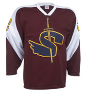 Custom Adult Birdseye Airmesh Hockey Jerseys Mens