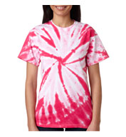 Custom Adult Pinwheel Tie Dye T-shirts