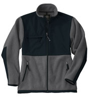 Custom Adult Evolux� Fleece Jacket by Charles River Apparel Mens