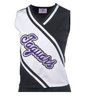 Custom Womens Deluxe Contrast Cheer Shell
