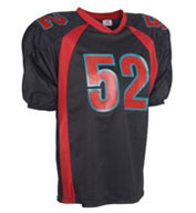 Custom Adult Dazzle Steelmesh Football Jersey Mens
