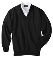 Custom Custom Embroidered Jersey Stitch V-Neck Cardigan